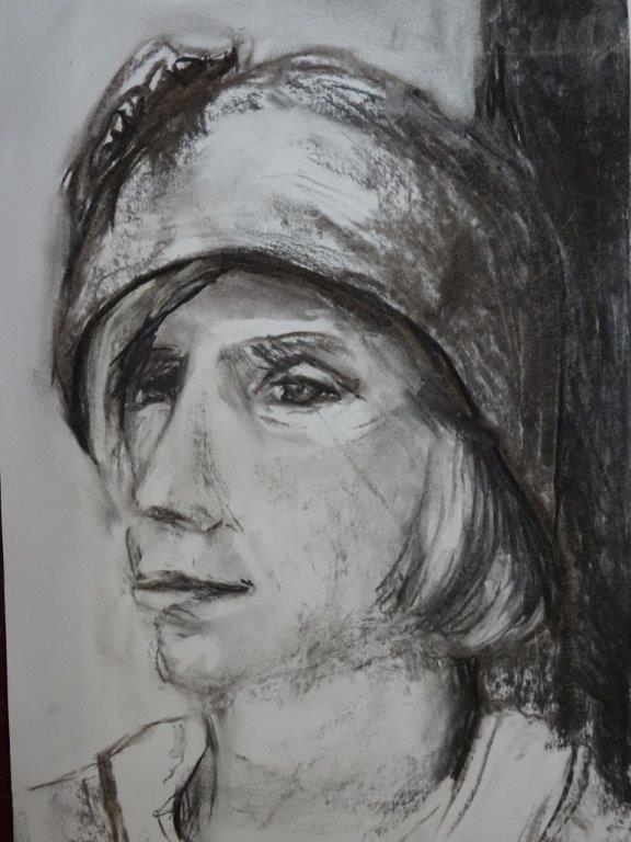 Portret en model 2